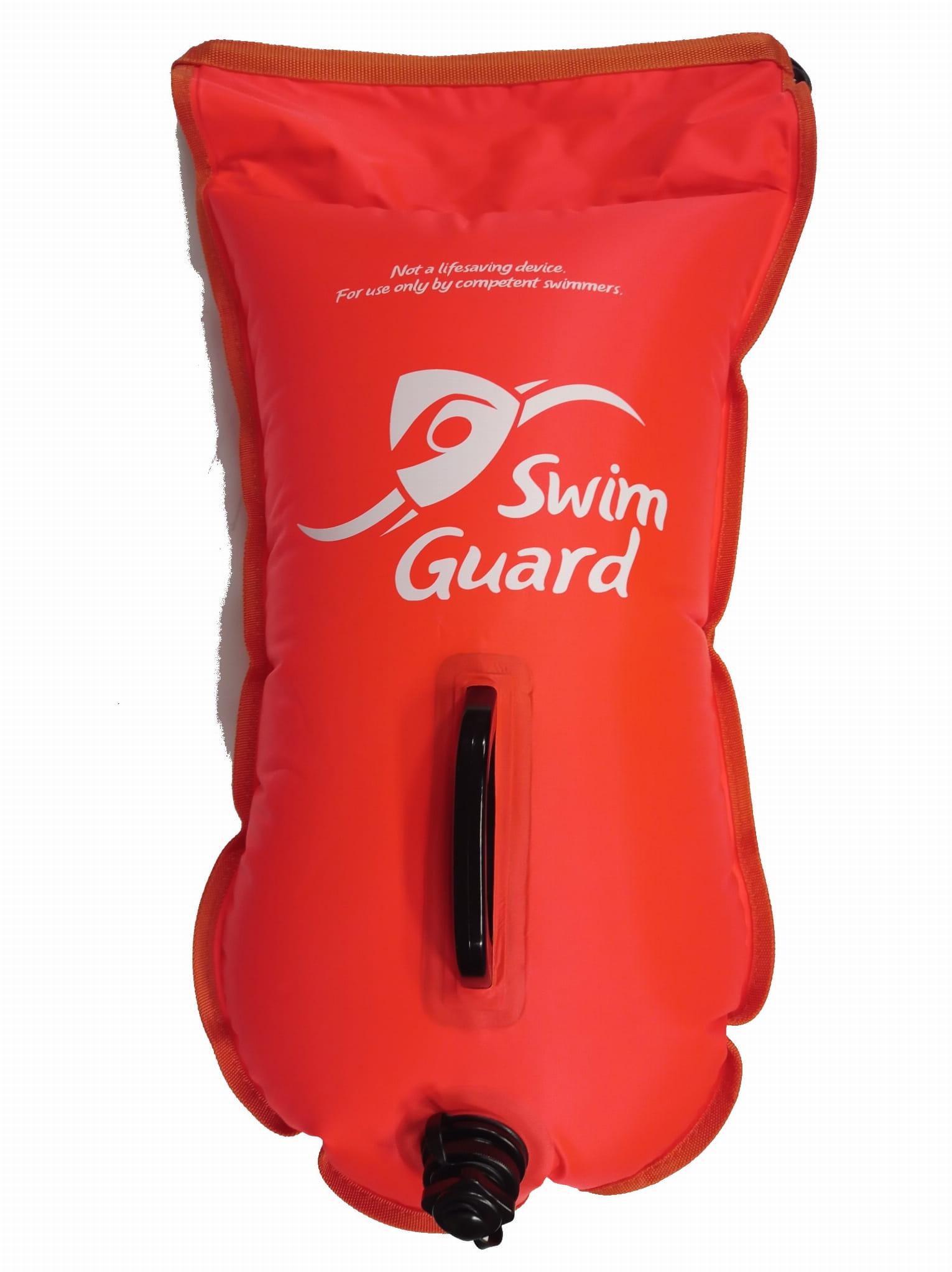 Bojka asekuracyjna dwukomorowa Swim Guard boja