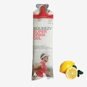 Drink Żel Energetyczny Squeezy cytryna z kofeiną 60g
